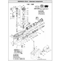 R.O. 6N6-W0078-02 - Water pump kit