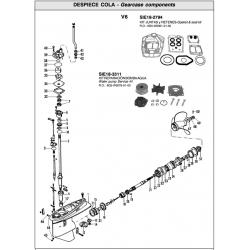 Nr.16  Gear F.W. Origineel: 6G5-4531-00-00