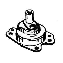 6/8 pk 86-93, 9.9 pk 86-98, 8/9.9/15 pk 4-takt, XR10 Seapro 90-98, 15 pk 88-98, 15 pk Seapro/Marathon 94-98. Bestelnummer: GLM12