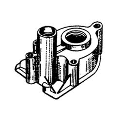 Maison de l'eau pompe 65 63 HP - HP 76 84-88 61, 75, 70 CV, 80 85 HP HP (850XS) 4cyl 4cyl 69-83, 73-77 78-86, 95 CV, 90 CV 6cyl