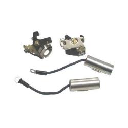 Mercury ontsekingskit, contactpunt met bijhorende condensator..  Kit bestaat uit: 2x SIE18-5206 en 2x SIE18-5153. Bestelnummer: