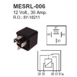 Mercury startrelais, zie afbeelding voor de juiste keus.. Bestelnummer: MESRL-006. R.O.: 87-18211