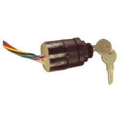 Plastic uit-ontsteking-start(choke) 6 terminals – 3 posities. (Mercury afstandsbediening contactslot). Bestelnummer: GS111