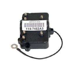 Mercury powerpack 18 pk 80-93, 18/20/25XD 79-87, 20 pk 80-87, 25 pk 79-87, 35 pk 84-89, 40 pk 81-84. Bestelnummer: CDI114-7452A3