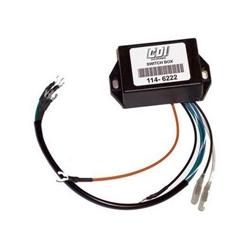 Mercury powerpack 4 pk 76-80, 7,5 pk 74-86, 9.8 pk 74-85, . Bestelnummer: CDI114-6222. R.O.: 339-5287. 339-6222A1-4-6-8-10, 339-