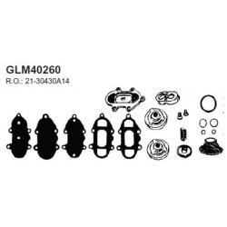 Mercury check valve kit 90 pk 6cil 79-86, 115 pk 79-83, 140 pk 6cil 80,81. Bestelnummer: GLM40260. R.O.:21-30430A14