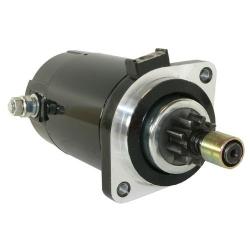 Startmotor / Starter 40 / 50 / 115 / 130 / 150 / 175 / 200 pk & V6 Special (1984 t/m 2002). Origineel: 6E5-81800-10, 6E5-81800-1