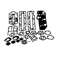 Mercury pakking set 70/80/90 pk 3cil . Bestelnummer: GLM39333. R.O.: 27-43004A99