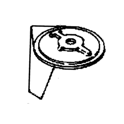 25 4T, 30 2cil, 40/50 pk 2/3cil 2&4-takt Anode zink. Bestelnummer: CM822157T2. R.O.: 822157T2