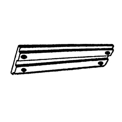 Aluminium (zie afbeelding). Bestelnummer: CM818298A. R.O.: 818298A