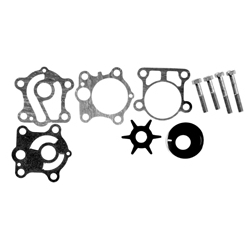 Complete water pump kit Yamaha 25 HP & 30 HP (model years 1999 to 2002) Product no: 6J8-W0078-A2 or 6J8-W0078-A1-00