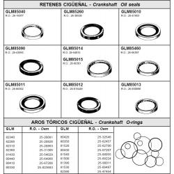 R.O. 25-20863 - Brg O-ring3,5 t/m 9,8 pk