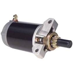 Startmotor / Starter F25 pk (4-takt) 1998 t/m 2008) Yamaha buitenboordmotor. Origineel: 65W-81800-00, 65W-81800-01, 65W-81800-02