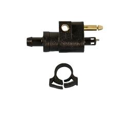 Mercury/Tohatsu male connector voor benzine slang van (8 mm). Te gebruiken voor female connector: GS31026, GS31027, GS31028 en
