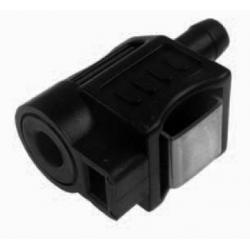 Honda female connector voor 8 mm slang met rechthoekige vergrendeling. Te gebruiken voor male connector: 18-80407. Bestelnummer: