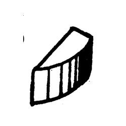OMC impeller sleutel, voor impeller GLM89570. Bestelnummer: GLM89590. Gelijk aan: SIE18-3299. R.O.: 331107