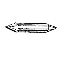OMC impeller sleutel. Bestelnummer: GLM89596. Gelijk aan: SIE18-3326. R.O.: 300771, 300611
