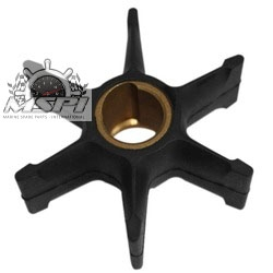 Impeller (small housing) 40 / 45 / 48 55 pk (1984 t/m 1994) Johnson / Evinrude buitenboodmotor . Origineel: 396809, 777214
