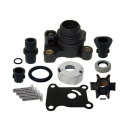 Waterpomp kit / Water Pump 9,9 & 15 pk Johnson & Evinrude. Origineel: 394711. (SIE18-3327)