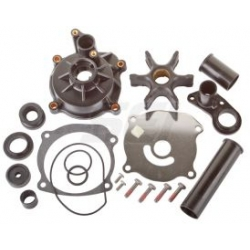 Johnson Evinrude Water pump Kit complete & V4/V6/V8 built in 1979 to 2006. Original: 435929, 5001594, 5001595, GLM12000