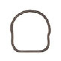 OMC thermostat gasket 5, 6, 8, 10 1991 to 2001 & 15 HP. Original 336947