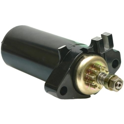 Johnson Evinrude starter motor/Starter & 9.9, 10 & 15 HP (1980-1997). Original: 386430, 586276 (SIE18-6434)