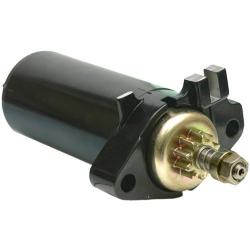 Johnson & Evinrude Startmotor / Starter 9.9, 10 & 15 PK (1980 t/m 1997). Origineel: 386430, 586276 (SIE18-6434)