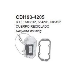 OMC gelijkrichter 120 pk 88-94, 125-140 pk. Bestelnummer: CDI193-4205. R.O.: 583512, 584205, 585192