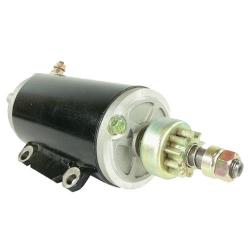 Startmotor / Starter Johnson Evinrude OMC 80 85 90 100 112 115 & 120 pk buitenboordmotor. Origineel: 385529, 386465, 389380, 389