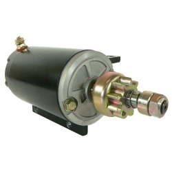 Startmotor / Starter OMC Johnson Evinrude 40 48 50 60 70 & 75 PK buitenboordmotor: 384163, 387684, 389275, 585063, 586280
