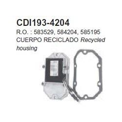 OMC gelijkrichter 80jet, 85/88 pk 92-96, 90-115 pk, V4 & V6 crossflow. Bestelnummer: CDI193-4204. R.O.: 583529, 584204, 585