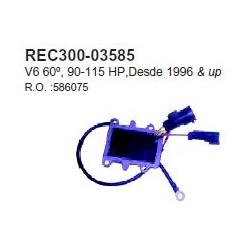 OMC gelijkrichter 90-115 pk 60° V4 '96+. Bestelnummer: REC300-03585. R.O.: 586075