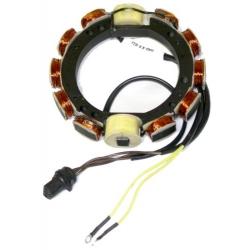 Stator 150 pk 6 cyl. 89-90 9 AMP . Bestelnummer: 173-3837. R.O.: 583837
