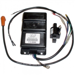 Bobine | Ignition Coil | Power pack Johnson Evinrude Bombardier Origineel: 381884, 382478, 383298, 384522, 385034, 385036, 38503