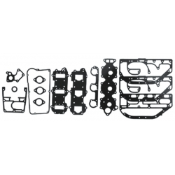 End gasket Kit/Powerhead gasket set 3cil 60-75 HP Johnson Evinrude (1979-1988). Original: 385416. (SIE18-4300) GLM39350
