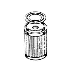 OMC Carb. Benzine filter. Bestelnummer: GLM24880. R.O.: 312456