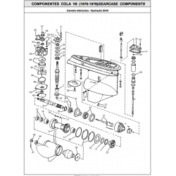 Nr.14 - 387247 - Needle bearing, prop shaft