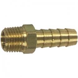 Connecteur mâle Johnson/evinrude filetage 6 mm, pour tuyau 10 mm. numéro d'ordre: 18-8074. MOC l.r.: 173312 (3/8 ″)