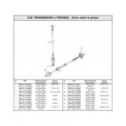 Nr.8 PinionDT9.9, 15 - 57311-93901