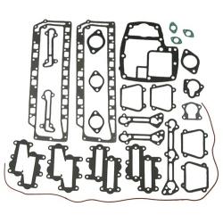 Compleet motorblok pakkingset Chrysler/Force 115 pk t/m 140 pk (bouwjaren 1971 t/m 1988) . Bestelnummer: 18-4312