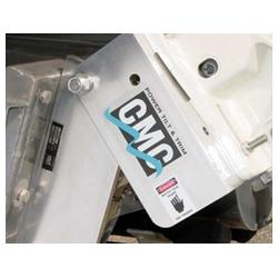 tot 130 pk trim 20° tilt 90° aluminium/roestvrij staal inclusief set power tilt peiler. Bestelnummer: CMC13001Q