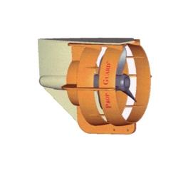 Propeller / schroef beschermer 25 t/m 35 pk Kleur: oranje. Bestelnummer: GUA011171