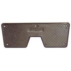 Plastique de protection plaque miroir t.b.v. assemblage moteur hors-bord