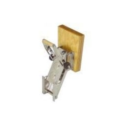 RVS buitenboordmotor bracket tot 20 pk Provided with a safety stop device with 5 positions.