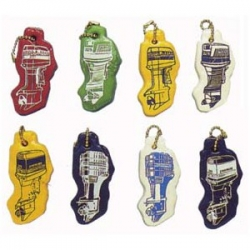 Floating, Honda, outboard motor, key chain