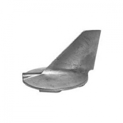 aluminium, staartstuk, anode, 61A-45371-00, Yamaha, buitenboordmotor, aluminum, outboard