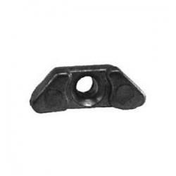 Aluminium, motorblok, anode, 6E5-45371-01, Yamaha, buitenboordmotor, aluminum