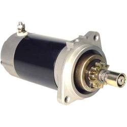 Startmotor / Starter Yamaha 25 t/m 40 pk (1984 t/m 1997). Origineel: 689-81800-11, 689-81800-12, 689-81800-13 (SIE18-6410)