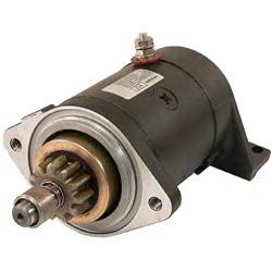 Starter motor Yamaha Wave Jammer WJ500 WR500//Starter (1987-1993). Original: 6K8-81800-10, 6K8-81800-12, 6K8-81800-11 (SIE18-628
