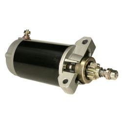 Startmotor / Starter Yamaha 30 & 40 pk 4-takt buitenboordmotor. Origineel: 67C-81800-00, 67C-81800-01, 67C-81800-02